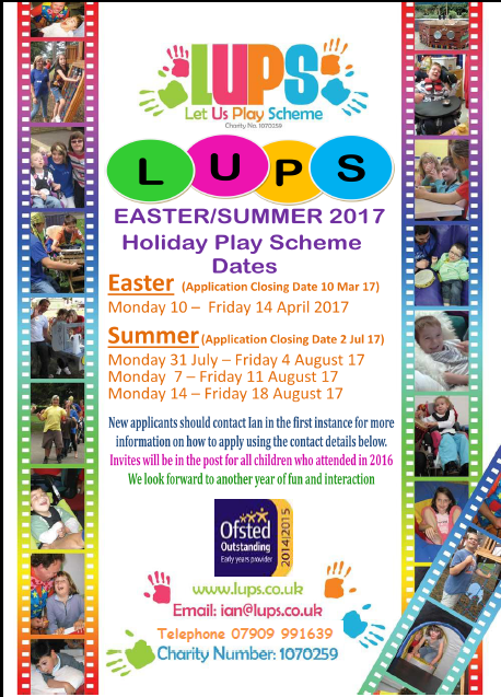 20170117-LUPS Easter and Summer Dates Poster